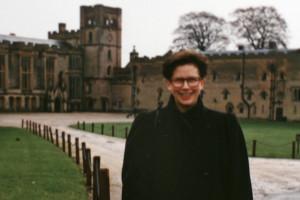 Caroline Kliemt in England 1991