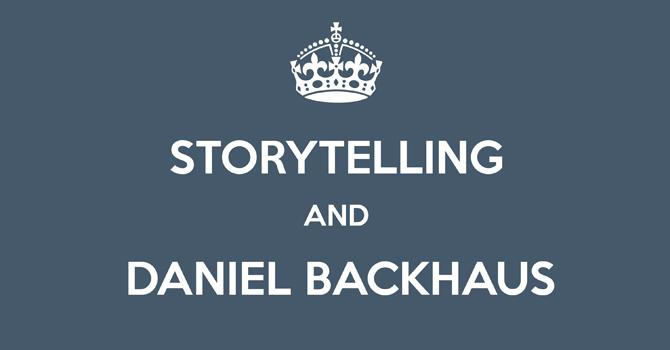 Daniel Backhaus über Storytelling 2013