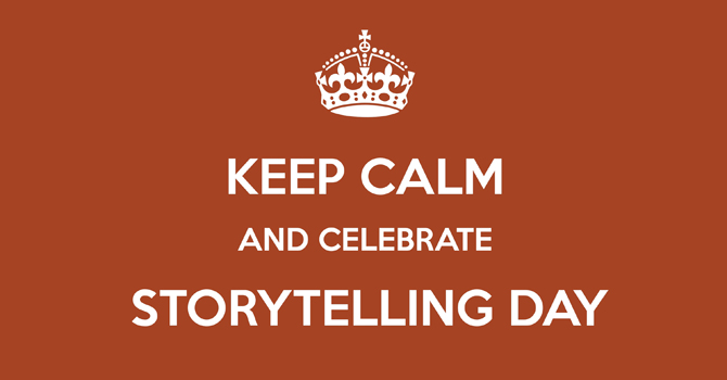 World Storytelling Day 2013 und Buzzword-Alarm in Berlin