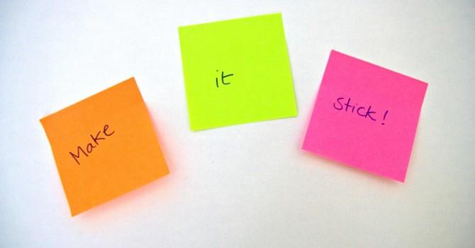 Inhalte Strukturieren - Botschaften, die haften bleiben. Bild (c) Caroline Kliemt