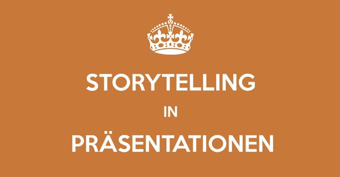Storytelling in Präsentationen von Caroline Kliemt